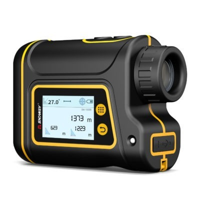 6X Telescope Laser Rangefinder - Perfect Distance Meter For Hunting, Golf, Sports, And Engineering