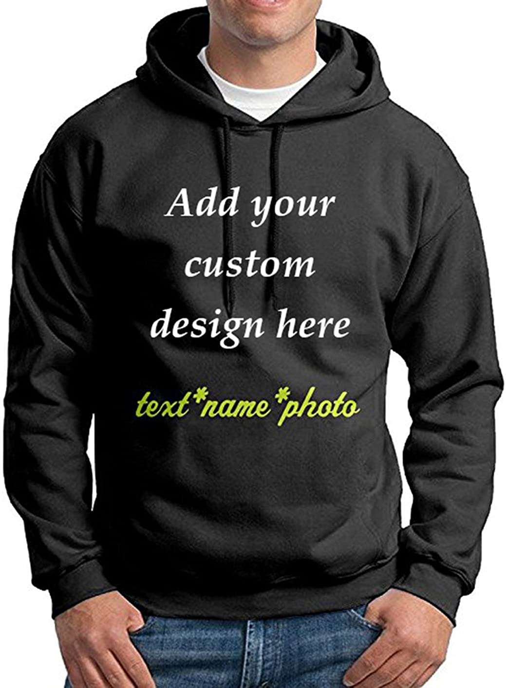 Personalized guys hoodie