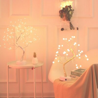Tree Shaped LED Garland Lamp - Perfect Fairy Lights For Kids Bedroom Or Holiday Season