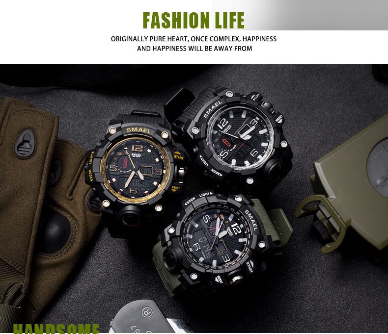 Smael Rugged Sports Watches