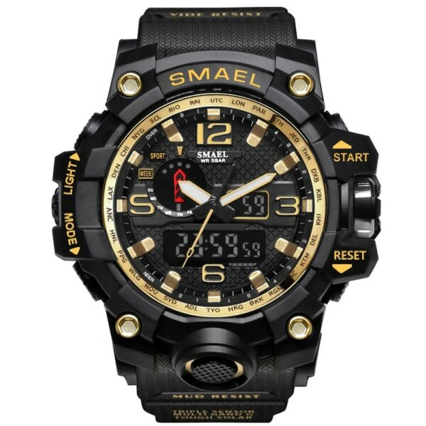Rugged Sports Watches for Men with Digital and Analogue Display