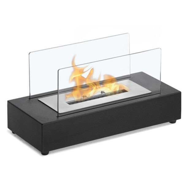 Nordic Style Desktop Alcohol Fireplace Real Fire Landscape Indoor Home Decorations Tabletop Biomass Ethanol Fireplace Ornaments