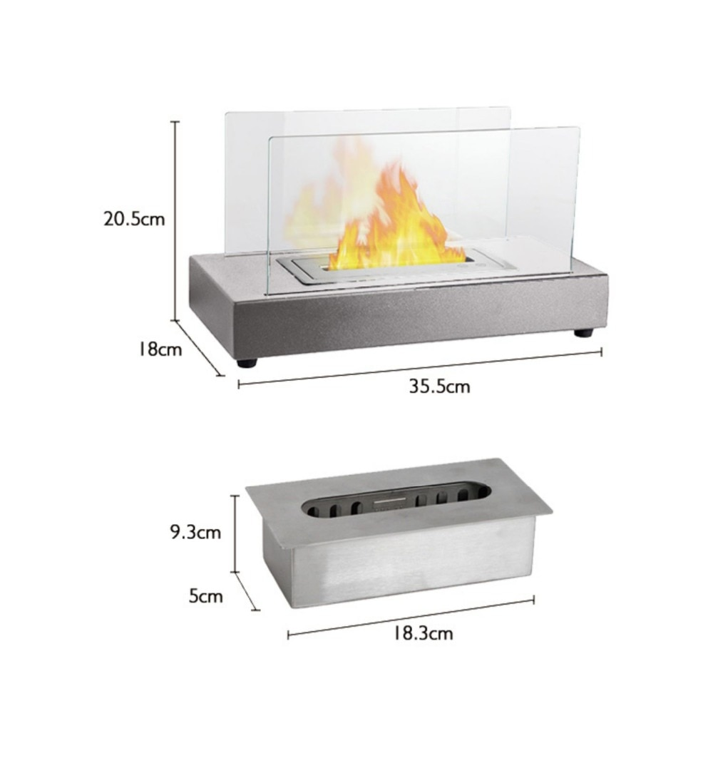 Nordic Style Tabletop Fireplace