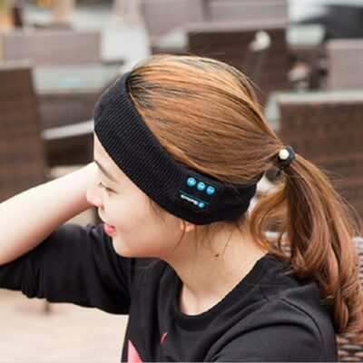 Wireless Headphone Headband — Perfect For Sleeping And For Working Out 6