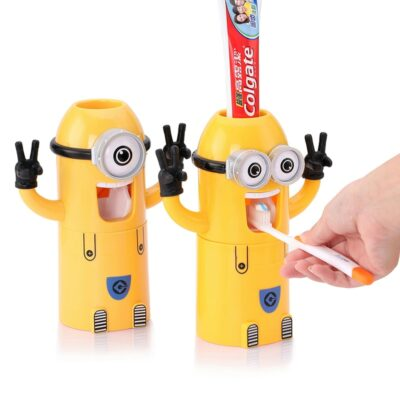 Minions Automatic Toothpaste Dispenser For Kids 1