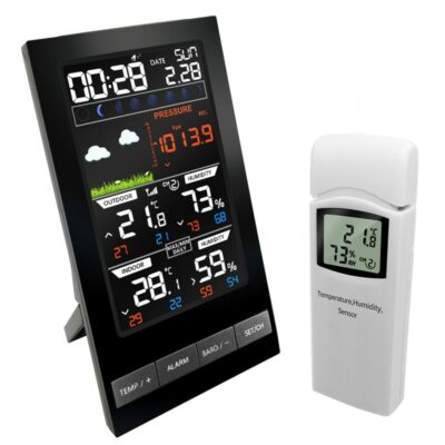 Wireless Digital Weather Station: For Temperature, Humidity, And Pressure Measurements 1