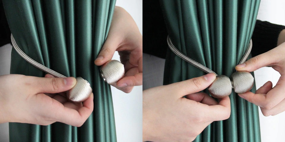 Magnetic Curtain Tie Back 10