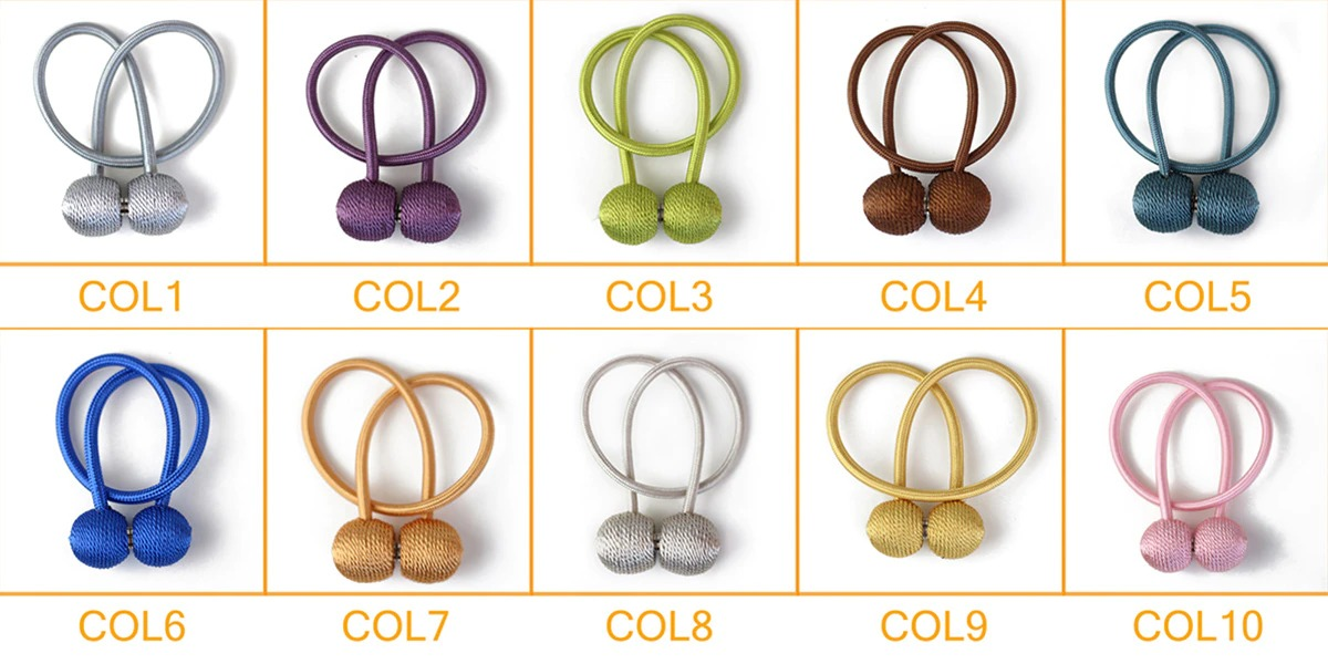 Magnetic Curtain Tie Back 11