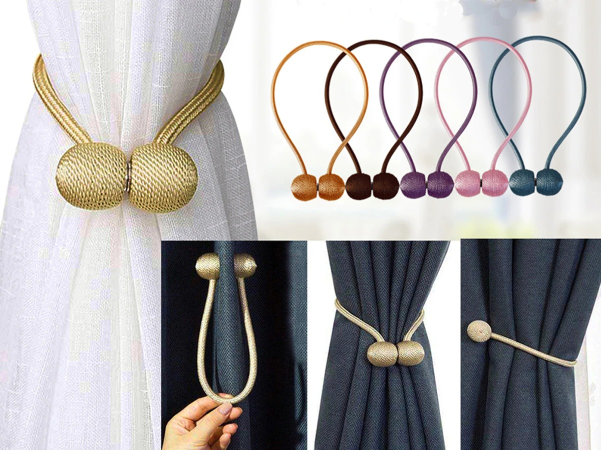 Magnetic Curtain Tie Back 9