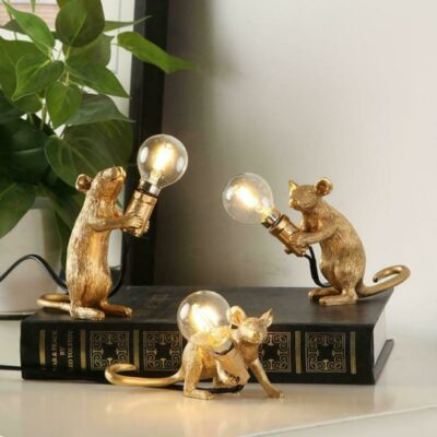 Resin Mouse Table Lamps 56