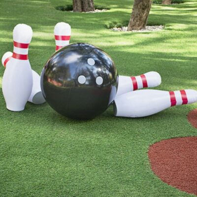 Giant Inflatable Bowling Set For Kids 1