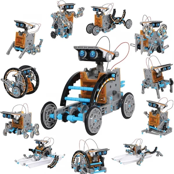12-in-1 Solar Robotic Educational Toy 1