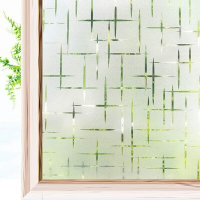Frosted Window Film For UV Protection 1