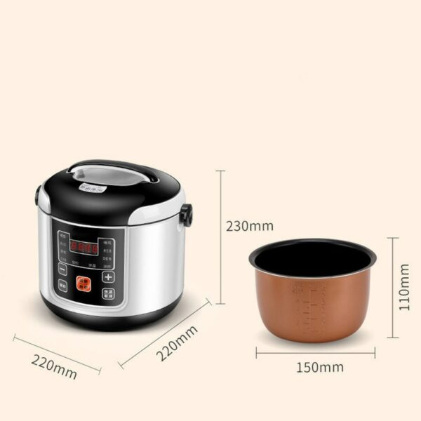 Mini Electric Rice Cooker — For Truck Drivers and Road Warriors 3