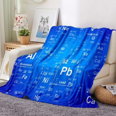 Periodic Table of Elements Warm Blanket 1