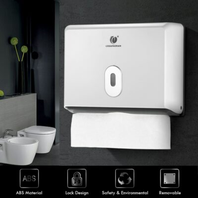 Wall-mounted Paper Towel Dispenser  1