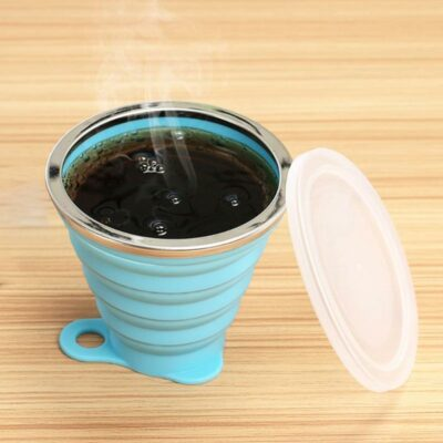 Ultra-Thin Collapsible Travel Cup