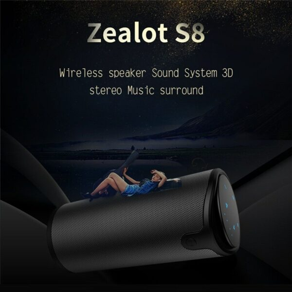 Portable Wireless Speaker with Sling Cover 5