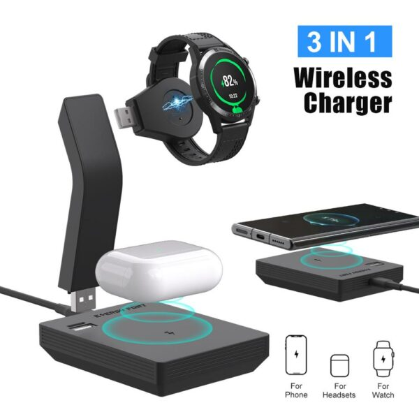 Modular 3-in-1 Wireless Charger 6