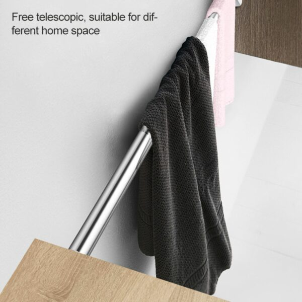 Extendable Cloth Hanging Rod 3