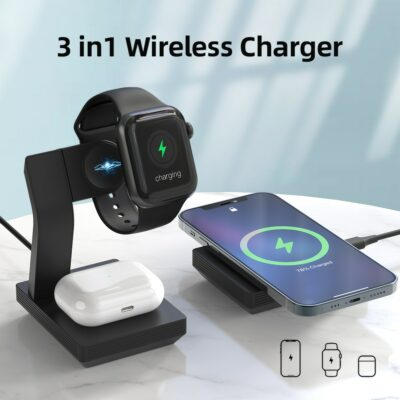 Modular 3-in-1 Wireless Charger 1