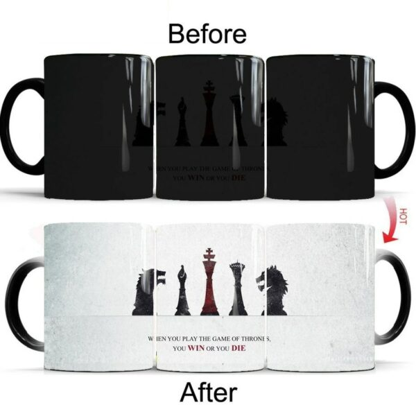 Heat Activated Color Changing Mug 2