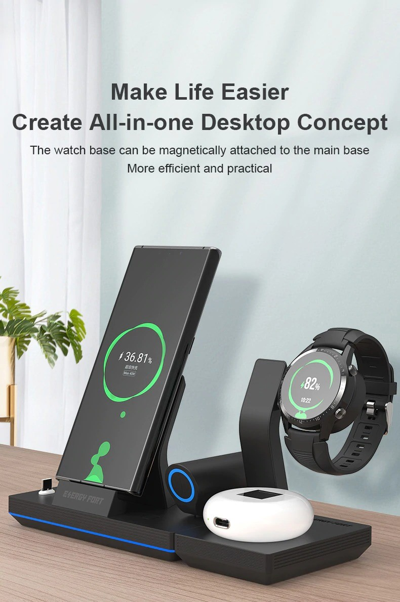 3-in-1 Wireless Charger 1