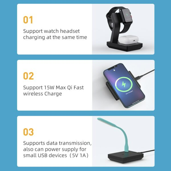 Modular 3-in-1 Wireless Charger 2