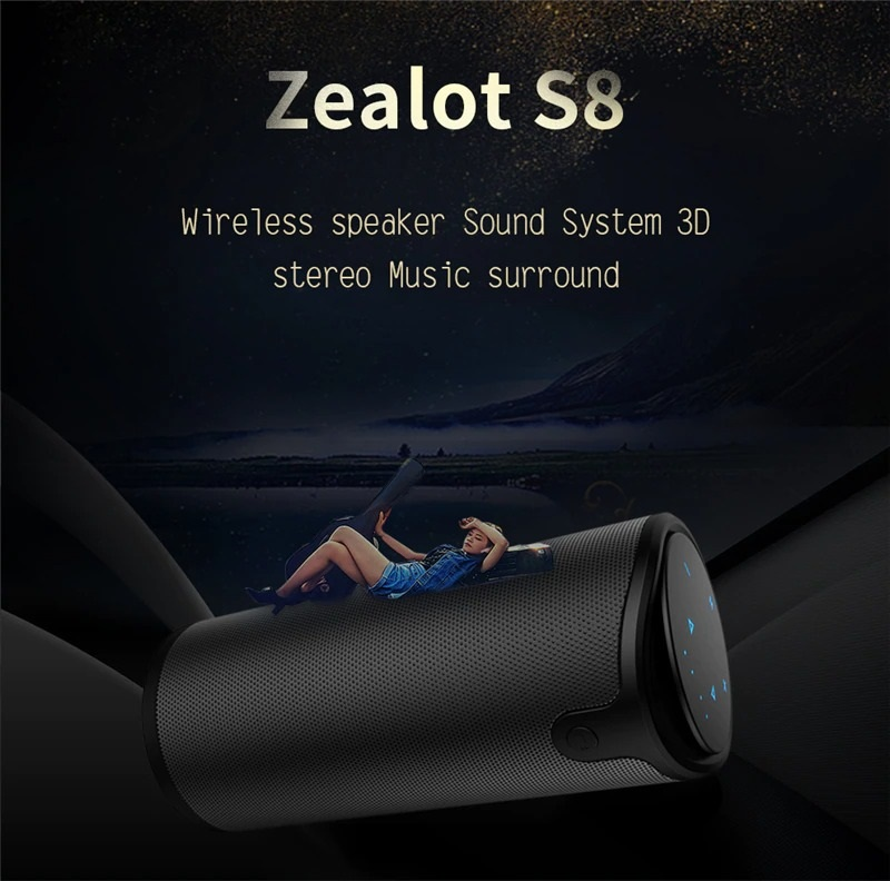 Portable Wireless Speaker with Sling Cover (1)