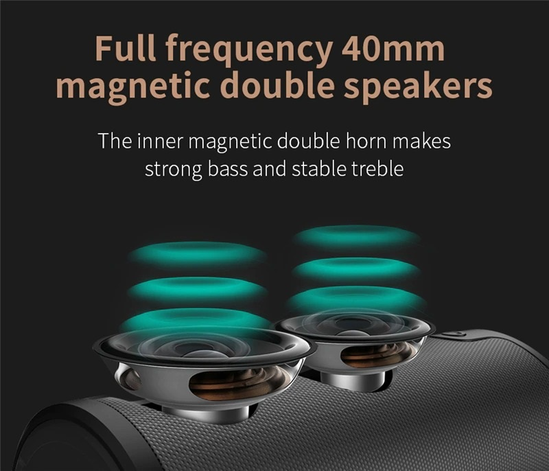 Portable Wireless Speaker with Sling Cover (6)