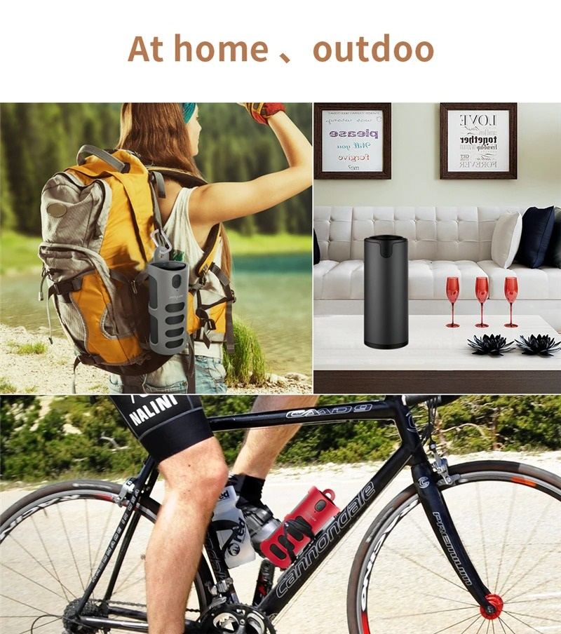 Portable Wireless Speaker with Sling Cover (7)