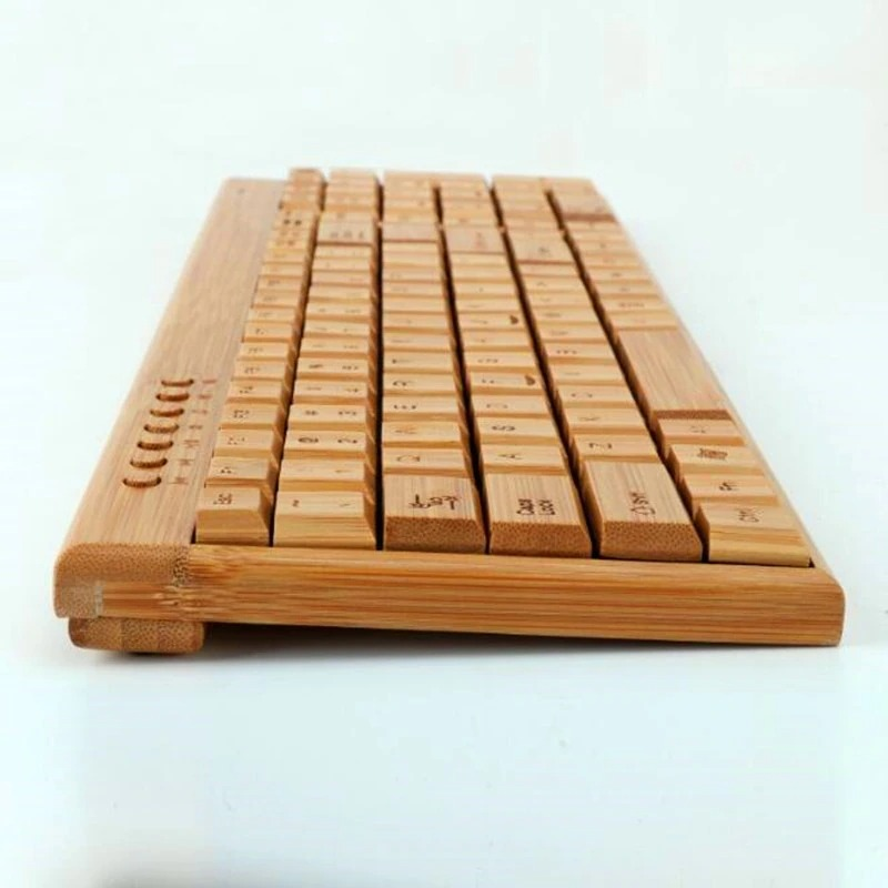 Wireless Bamboo Keyboard and Mouse (5)