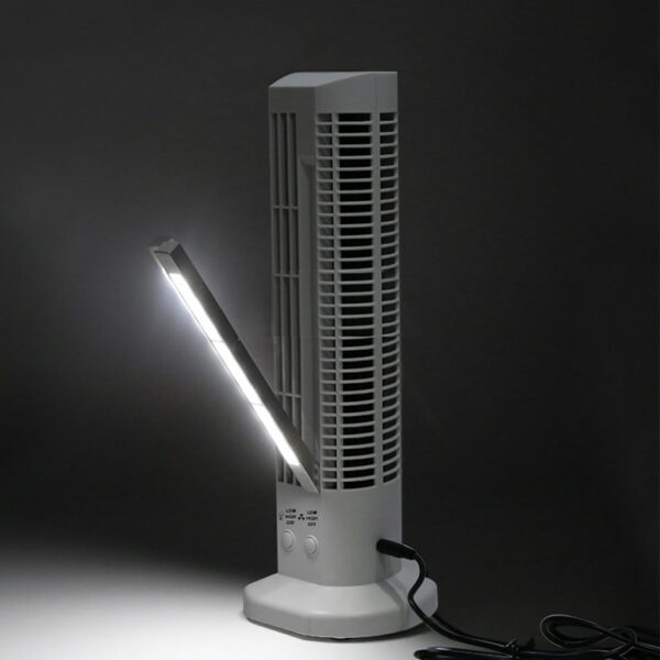 USB Tower Fan with LED Light 5