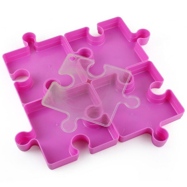 Stackable Jigsaw Puzzle Tray 4