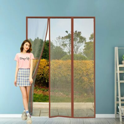 Insect-Proof Magnetic Door Curtain 1