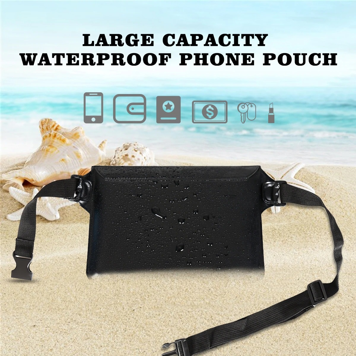 2-Pack Waterproof Pouch With Waist Strap (4)