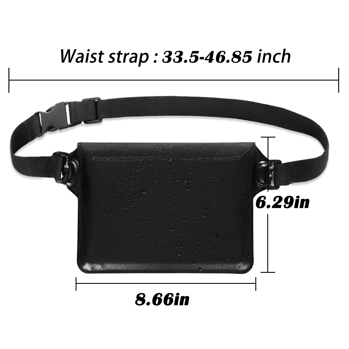 2-Pack Waterproof Pouch With Waist Strap (5)