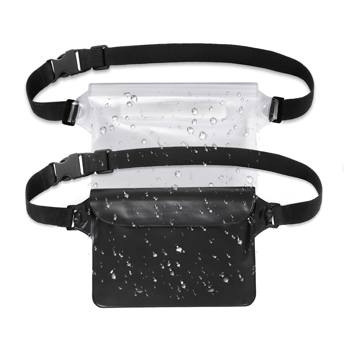 2-Pack Waterproof Pouch With Waist Strap (6)