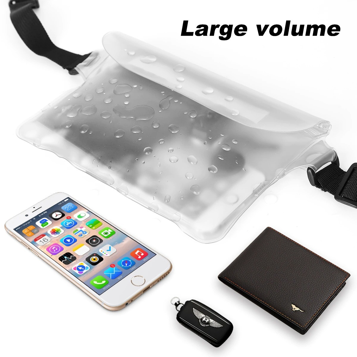 2-Pack Waterproof Pouch With Waist Strap (7)