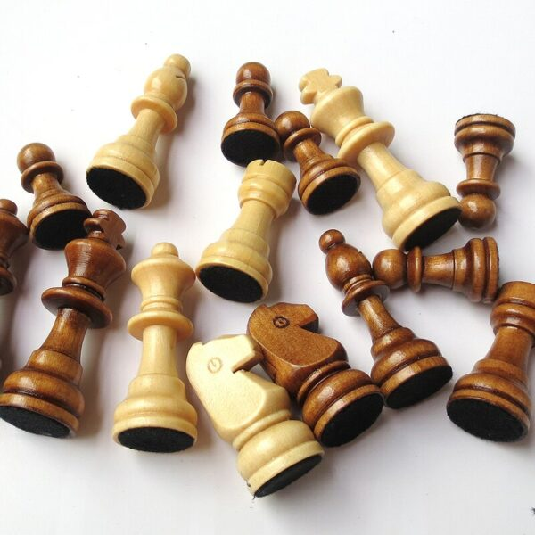 Book Style Magnetic Wooden Chess Set 6