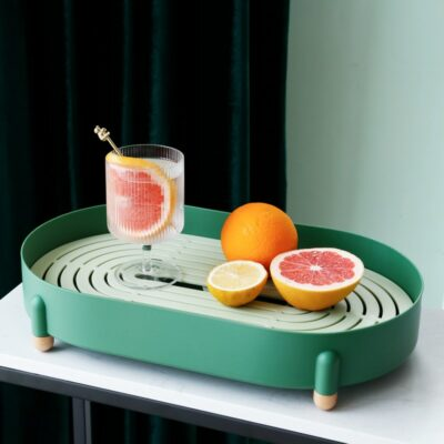 Drainage Serving Tray 1