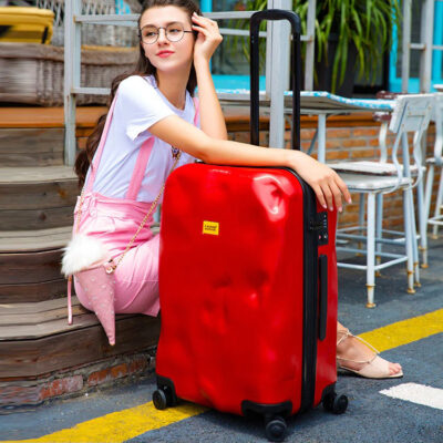 Battered Carry On Suitcase (11