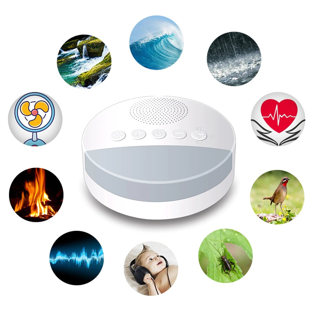 Rechargeable White Noise Machine 3