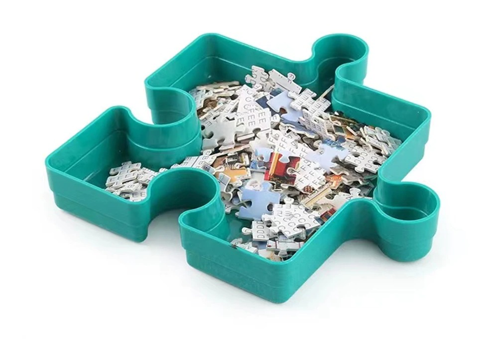 Stackable Jigsaw Puzzle Tray 6