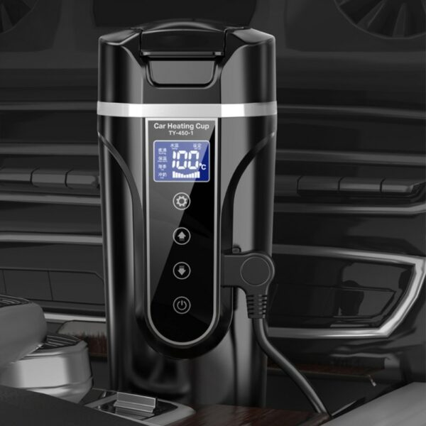 Stainless Steel Car Heating Cup 3